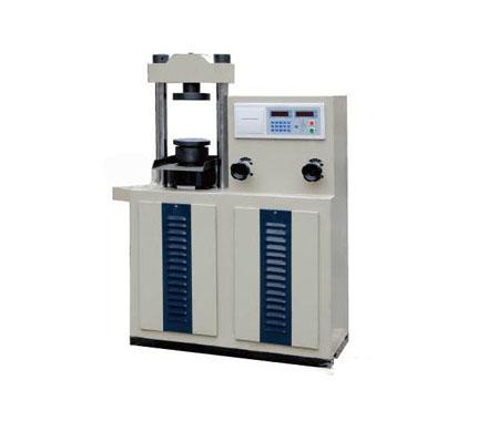 YAW-100/300型电液式压力试验机