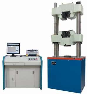 液压万能试验机的步骤介绍及外力分析